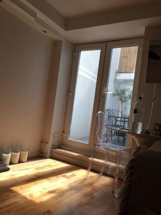 basement flat sunlight