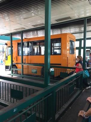 Capri Bus to Anacapri