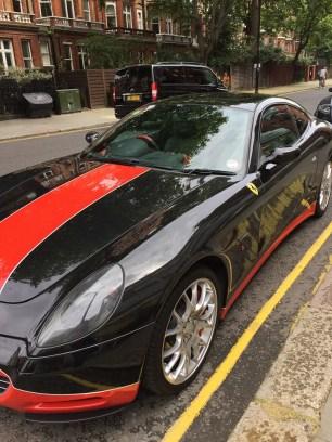 Custom Ferrari London