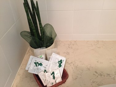 Santa Margherita Guesthouse toiletries