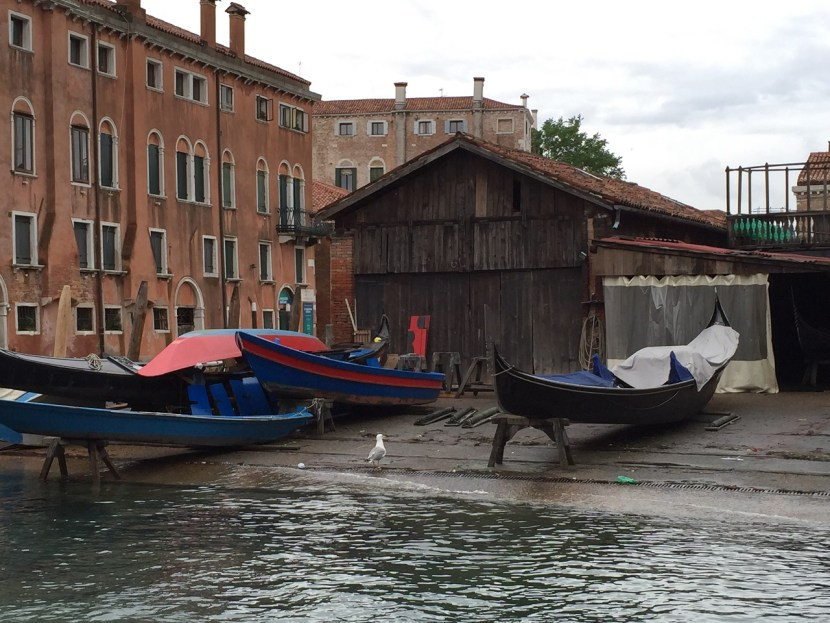 Venice last gondola workshop