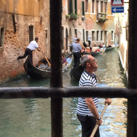 Venice Gondola Ride Canals