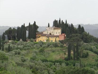 Florence Tuscan villa
