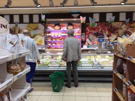 Italian Meats and Cheeses Venice Market