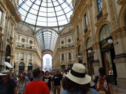 Galleria Vittorio Emanuele II Milan Shopping