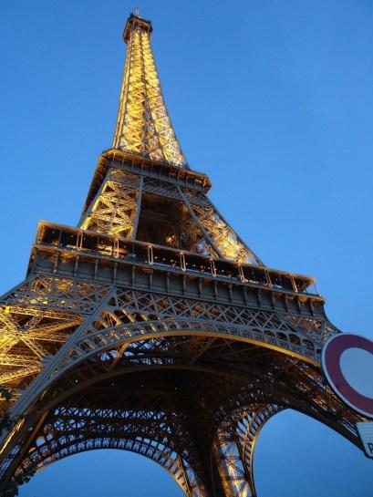 Paris Eiffel Tower Paris with Mom