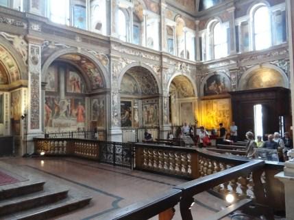 Fresco Church Milan San Maurizio al Monastero Maggiore