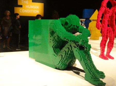 The Art of the Brick Human Condition