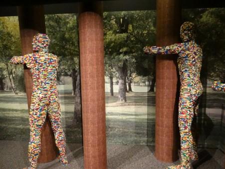 The Art of the Brick Tree Huggers