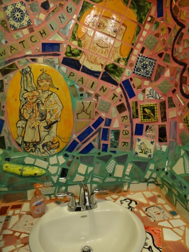 The Bathroom Sink at the Magic Gardens