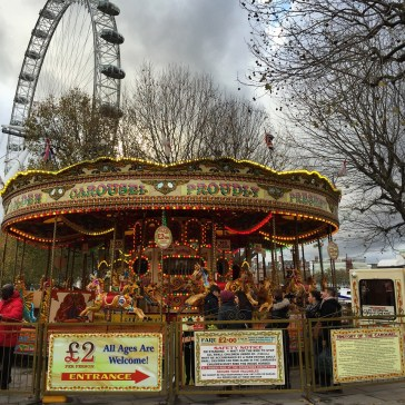 London Carousel and London Eye Southbank