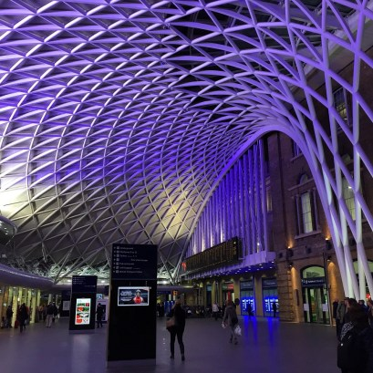 London Kings Cross at Night