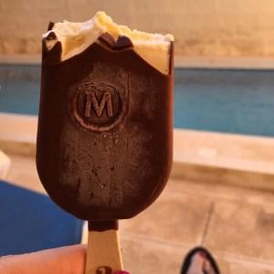 Magnum Ice Cream Gozo pool