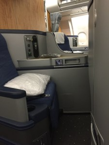 American Airlines international business class