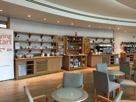 British Airways Manchester lounge
