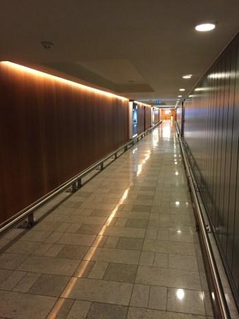 Walkway Terminal 5 to Sofitel Hotel LHR