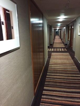 Sofitel Heathrow Hotel hallway