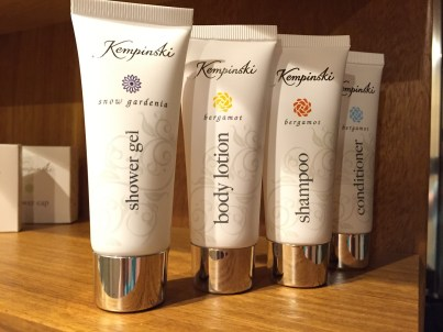 Kempinski Toiletries Gozo