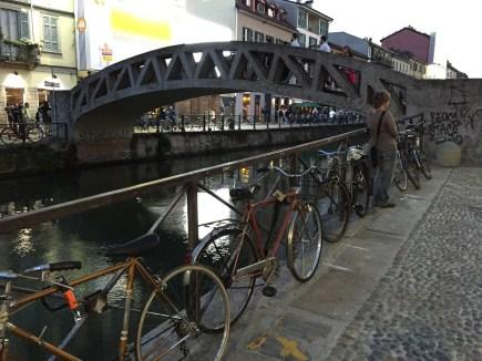 Milan Canal bridge in Navigli