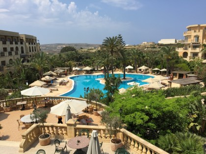 Kempinski Gozo Pool view