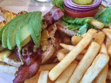 Grilled Chicken Bacon Avocado Paris sandwich American diner
