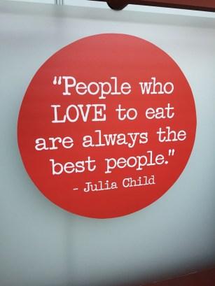 Julia Child Food Quote
