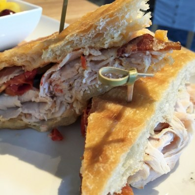Urban Farmer Philadelphia lunch panini
