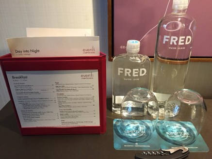 Fred Water at the Eventi Hotel NYC
