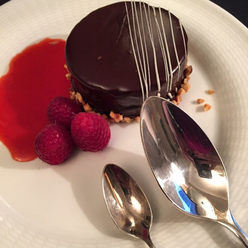 Westin Milan Chocolate Dessert