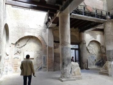 Herculaneum Temple Ercolano