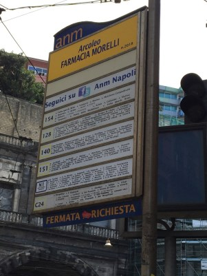 Naples Bus Stop