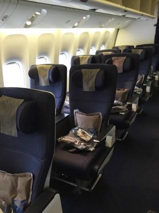 World Traveller Plus British Airways