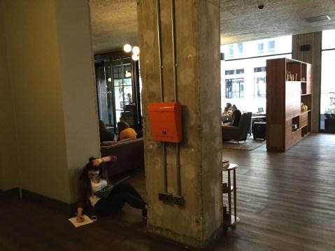 Hoxton Holborn working lobby