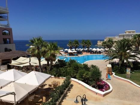 Westin Malta pool