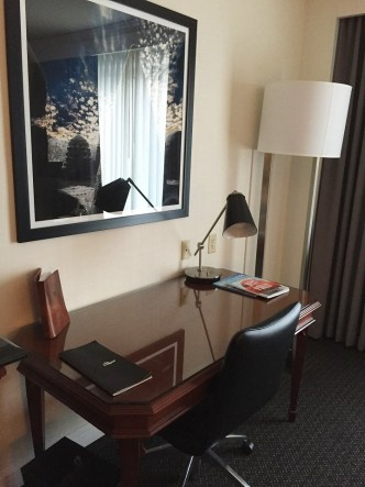 The Logan Hotel work desk outlets