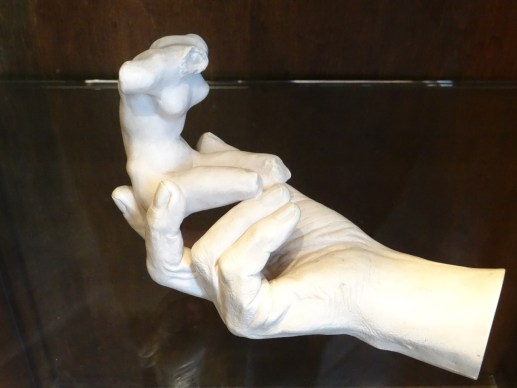 Rodin Museum Hands Holding Torso
