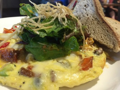Breakfast at The Logan Hotel Urban Farmer