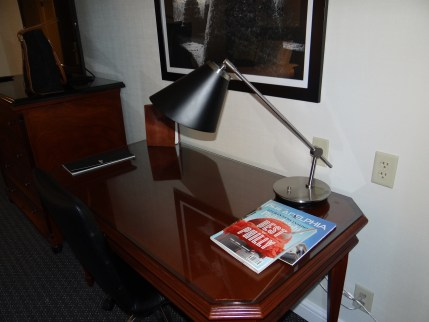 The Logan Hotel room desk