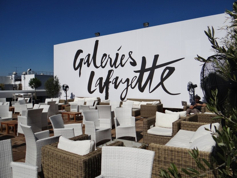 ... Views from Galleries Lafayette Rooftop, La Terrasse - PhilaTravelGirl