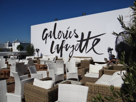 Galeries Lafayette Rooftop Dining Bar First Trip to Paris & London