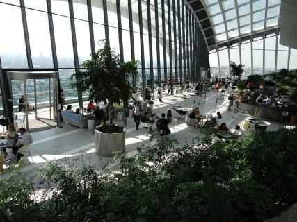 The Sky Garden London free views