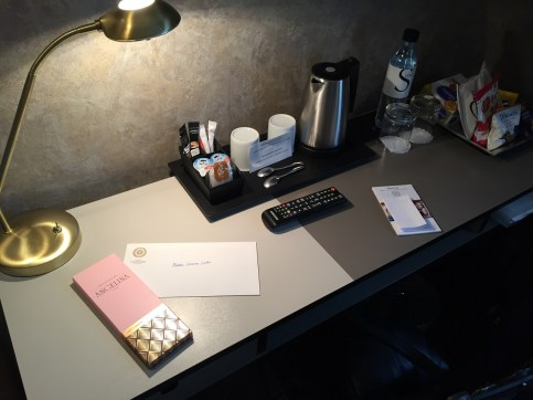 Hotel Therese desk