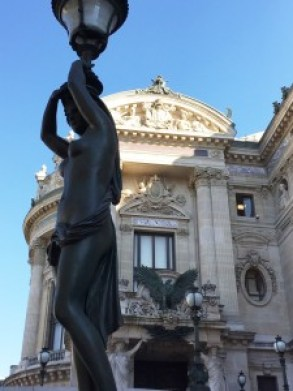 Paris Opera Tour statues