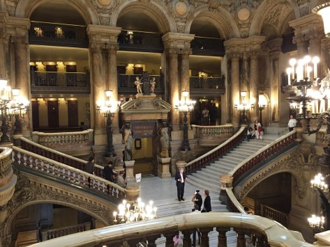 The Paris Opera Tour Grand Staircase