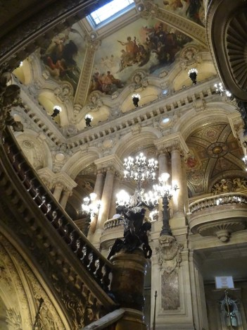 Grand Staircase at Paris Opera Tour