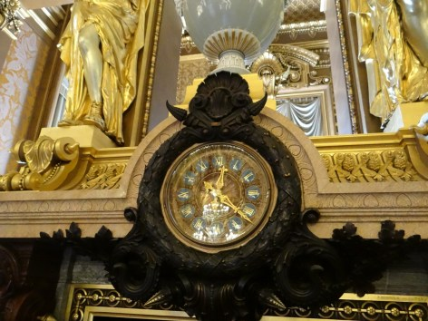Paris Opera Tour Clock