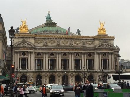 Paris Opera in the rain Starwood Luxury Privileges