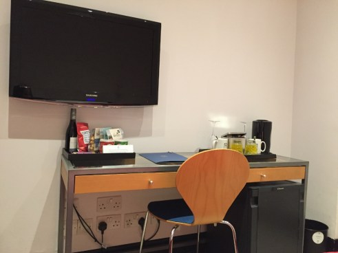 My Bloomsbury Hotel London desk