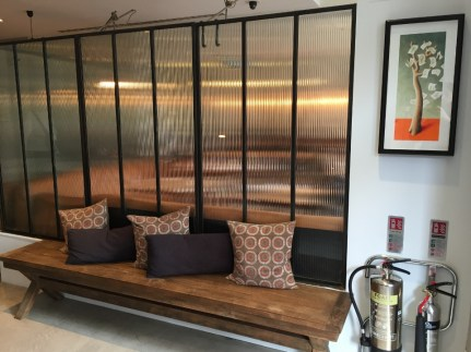 Lobby seating My Bloomsbury Hotel London