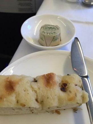 British Airways First Class Bread & Butter